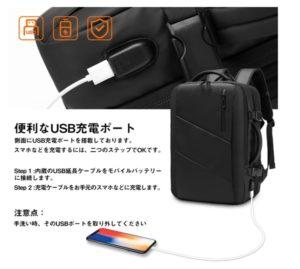 SUNOGE外部USBの位置